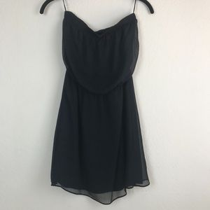 Black Strapless Dress From Express, Size XS